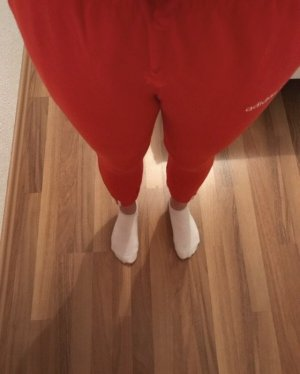 Adidas Sweat Pants red-white