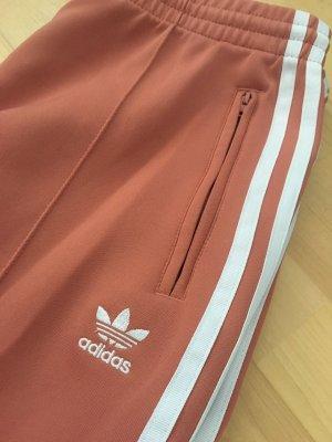 Adidas Sportbroek abrikoos-zalm