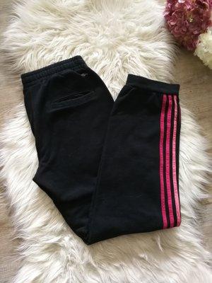 Adidas Jogginghose gr. xs Schwarz Pink