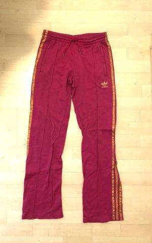 Adidas Jogginghose Sporthose Hose 34 / XS pink gold Top