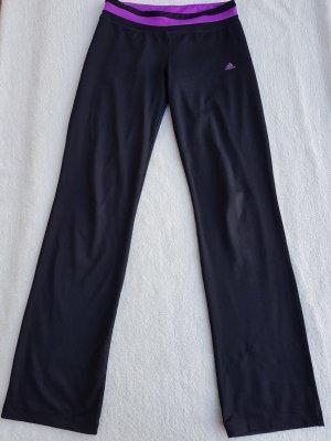 Adidas Jogginghose/ Sporthose mit lila Bund