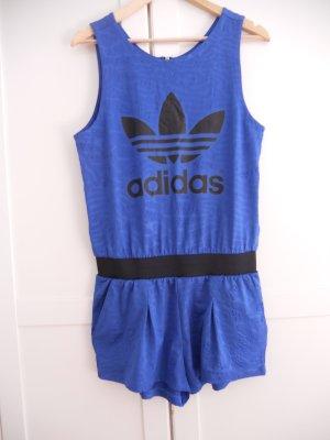 Adidas Jumpsuit blue-black polyester