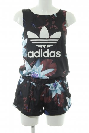 Adidas Jumpsuit floral pattern casual look