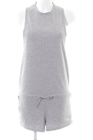 Adidas Jumpsuit hellgrau-grau meliert Casual-Look