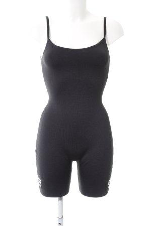 Adidas Jumpsuit schwarz-weiß sportlicher Stil