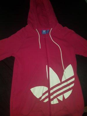Adidas Chaqueta estilo camisa rosa
