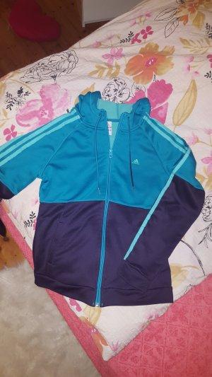 Adidas Originals Gilet de sport violet foncé-bleu cadet