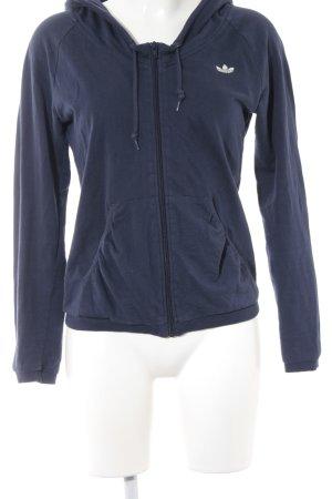 Adidas Kapuzenjacke dunkelblau-blau Casual-Look