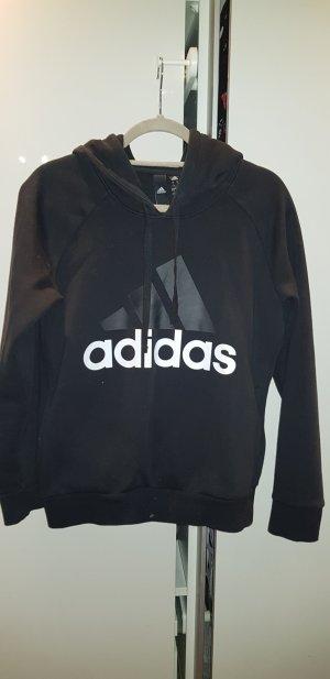 Adidas Maglione con cappuccio nero