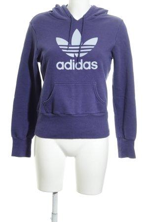 Adidas Maglione con cappuccio Stampa a tema stile atletico