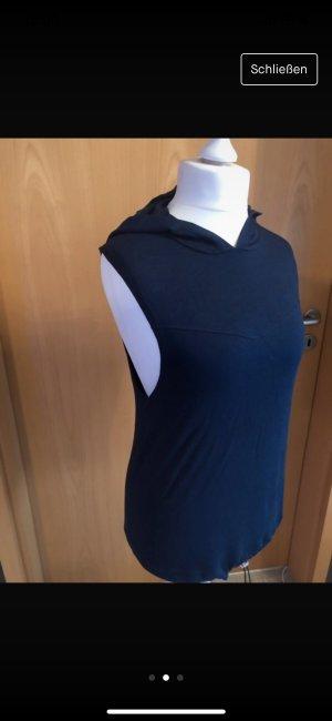 Adidas NEO Shirt met capuchon donkerblauw