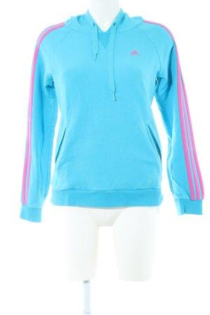 Azul Casual Capucha Adidas Sudadera Look Rosa Con hdQrtsxC