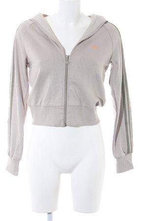 Adidas Kapuzensweatshirt grüngrau Casual-Look
