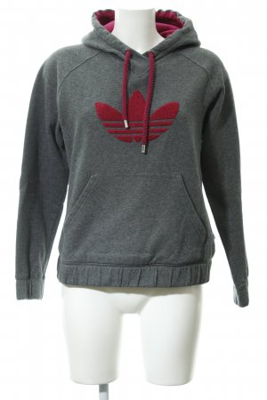 Adidas Kapuzensweatshirt meliert Casual-Look