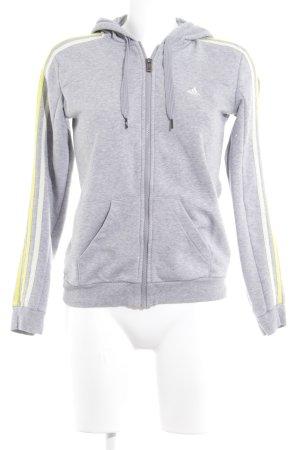 Adidas Kapuzensweatshirt Schriftzug gestickt Casual-Look