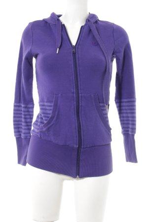 Adidas Capuchon vest paars-lila atletische stijl