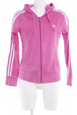 Adidas Hooded Vest pink athletic style