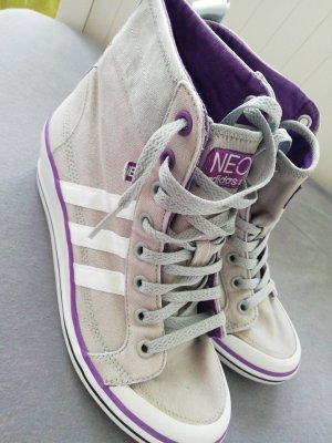 Adidas NEO High Top Sneaker light grey-lilac