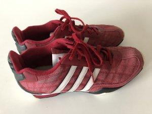 Adidas Zapatilla brogue blanco-rojo oscuro
