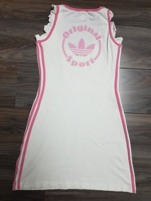 Adidas Originals Mini vestido blanco-rosa claro