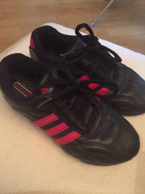 Adidas Zapatos de patinador negro-rojo ladrillo
