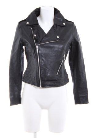 Adidas Short Jacket black casual look