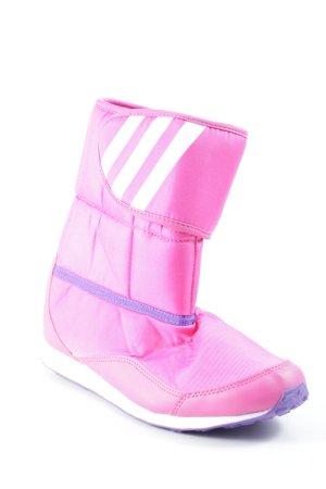 Adidas Korte laarzen magenta atletische stijl