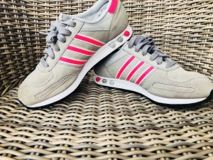 Adidas LA TRAINER - Pink/grau