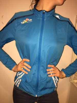 Adidas Sports Jacket neon blue
