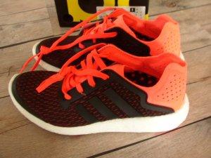 Adidas Laufschuhe Pure Boost Reveal schwarz/orange in Gr. 40 *NEU