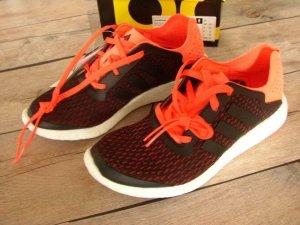 Adidas Lace Shoes black-orange
