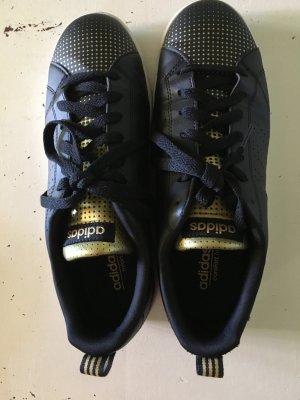Adidas Lederschuhe Schwarz