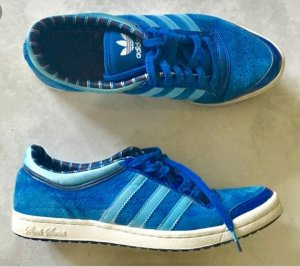 Adidas Lace-Up Sneaker blue-neon blue