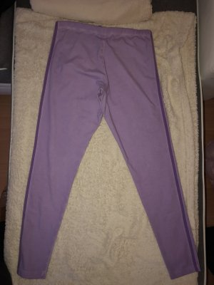 Adidas Originals Leggings viola-malva Cotone
