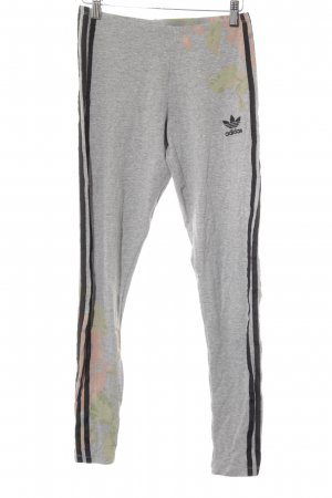 Adidas Leggings florales Muster Casual-Look