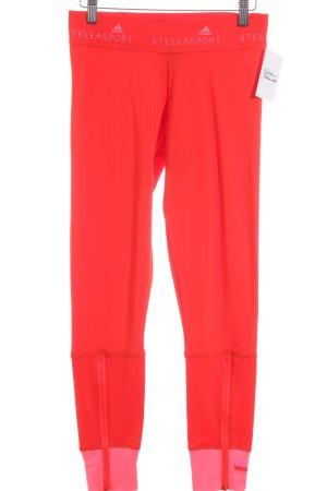 Adidas Leggings hellrot-neonpink sportlicher Stil