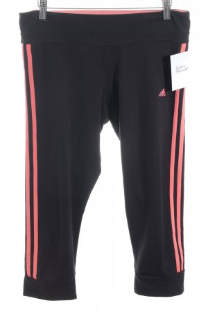 Adidas Leggings black-magenta athletic style