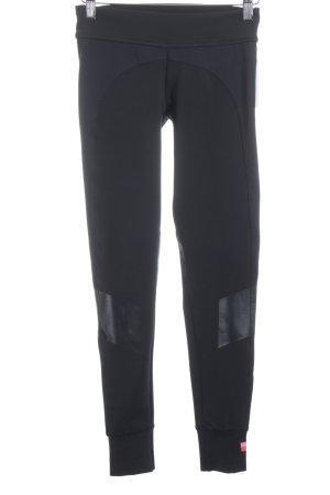 Adidas Leggings schwarz sportlicher Stil