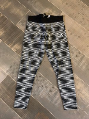 Adidas Leggings blanco-negro