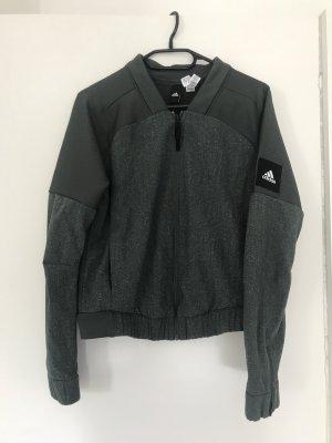 Adidas Sportjack groen-grijs-khaki