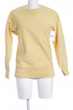 Adidas Longpullover goldorange Casual-Look