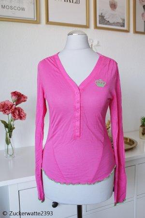 Adidas Originals Longesleeve roze-neonroos Katoen