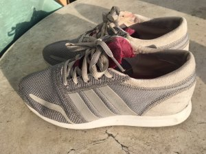 Adidas Lace-Up Sneaker grey-purple
