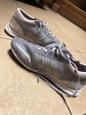 Adidas Originals Sneaker stringata grigio chiaro-rosso lampone