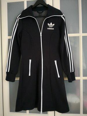 Adidas Robe manteau blanc-noir