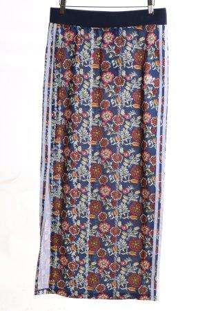 Adidas Falda larga estampado floral look casual