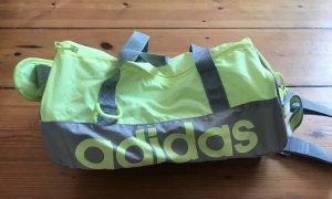 Adidas Mini Sporttasche, grau-mintgrün, neuwertig
