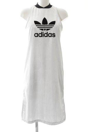 Adidas Minikleid weiß Casual-Look