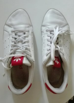 Adidas Miss Stan Stan Smith weiß rot Leder