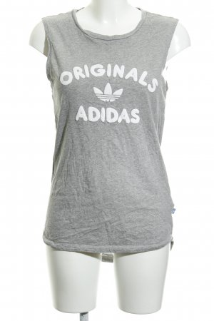 Adidas Muscle Shirt flecked athletic style